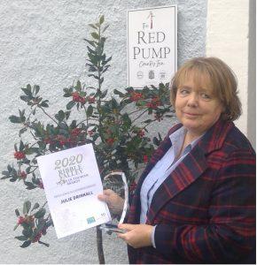 Red Pump Inn award 2020