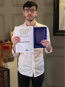 Max Rising star 2020 award